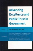 Advancing Excellence and Public Trust in Government 0 9780739145463 0739145460