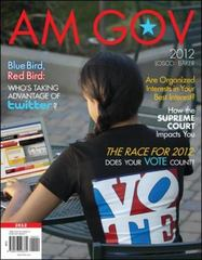 AM GOV 2012 3rd edition 9780073526379 0073526371