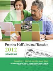 Prentice Hall's Federal Taxation 2012 Individuals 25th edition 9780132754026 0132754029