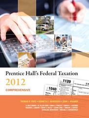 Prentice Hall's Federal Taxation 2012 Comprehensive 25th edition 9780132754262 0132754266