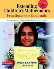 Extending Children's Mathematics: Fractions and Decimals 1st Edition 9780325030531 0325030537