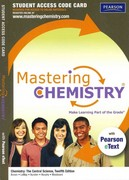 MasteringChemistry with Pearson eText -- Standalone Access Card -- for Chemistry: The Central Science 12th edition 9780321705129 0321705122