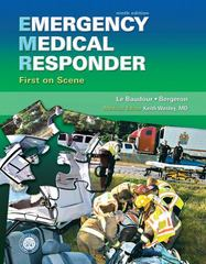 Emergency Medical Responder 9th Edition 9780133004113 0133004112