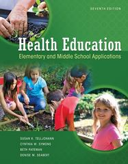 Health Education 7th Edition 9780073529684 0073529680