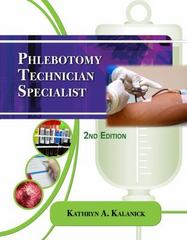 Phlebotomy Technician Specialist 2nd edition 9781435486447 1435486447