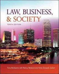 Law, Business and Society 10th edition 9780073525006 0073525006
