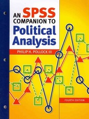 An SPSS Companion to Political Analysis 4th Edition 9781608716876 1608716872