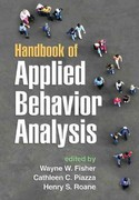 Handbook of Applied Behavior Analysis 1st Edition 9781609185039 160918503X