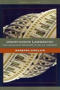 Unorthodox Lawmaking 4th Edition 9781608712366 1608712362