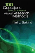 100 Questions (and Answers) About Research Methods 1st Edition 9781412992039 1412992036
