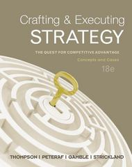 Crafting and Executing Strategy CC with Connect Access Card 18th edition 9780077908478 0077908473