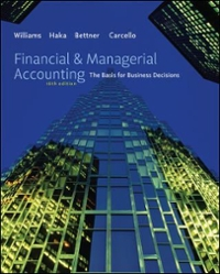 Financial & Managerial Accounting with Connect Plus 16th edition 9780077504014 0077504011