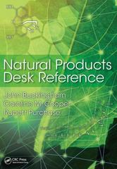 Natural Products Desk Reference 1st Edition 9781439873618 1439873615