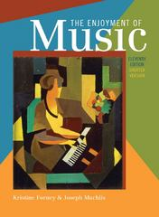 The Enjoyment of Music 11th Edition 9780393912449 0393912442
