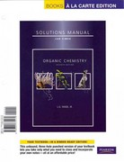 Organic Chemistry Student Solutions Manual, Books a la Carte Edition 7th edition 9780321774170 0321774175