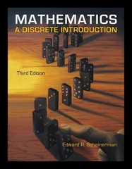 Mathematics 3rd edition 9780840049421 0840049420