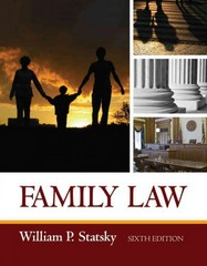 Family Law 6th edition 9781435440746 1435440749