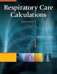 Respiratory Care Calculations 3rd edition 9781133709039 1133709036