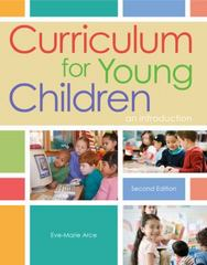 Curriculum for Young Children 2nd Edition 9781111837990 1111837996