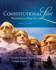 Constitutional Law 2nd edition 9781111648541 1111648549