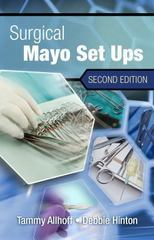 Surgical Mayo Setups 2nd Edition 9781111138189 1111138184