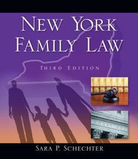 New York Family Law 3rd edition 9781111648442 1111648441