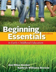 Beginning Essentials in Early Childhood Education 2nd edition 9781111830830 1111830835