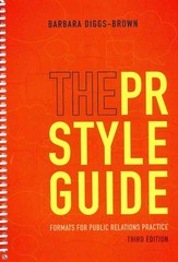 The PR Styleguide 3rd Edition 9781133713661 1133713661