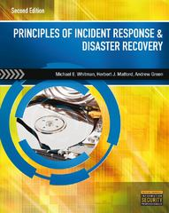 Principles of Incident Response and Disaster Recovery 2nd Edition 9781111138059 1111138052