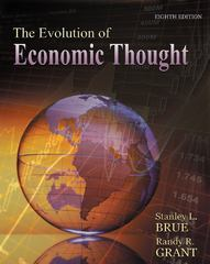 The Evolution of Economic Thought (with Economic Applications and InfoTrac 2-Semester Printed Access Card) 8th edition 9781111823672 1111823677