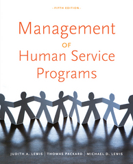 Management of Human Service Programs 5th edition 9780840034274 084003427X
