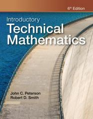Introductory Technical Mathematics 6th Edition 9781111542009 1111542007
