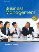 Business Management 13th edition 9781111571726 1111571724