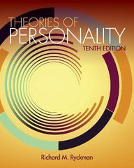Theories of Personality 10th edition 9781111830663 1111830665