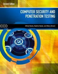 Computer Security and Penetration Testing 2nd Edition 9781285964027 1285964020