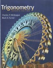 Trigonometry 7th Edition 9781111826857 1111826854