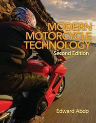 Modern Motorcycle Technology 2nd Edition 9781111640644 1111640645