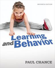 Learning and Behavior 7th edition 9781111832773 1111832773
