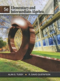 Elementary and Intermediate Algebra 5th edition 9781111567682 1111567689