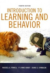Introduction to Learning and Behavior 4th Edition 9781111834302 111183430X