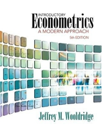 Introductory Econometrics (with Economic Applications and InfoTrac 2-Semester Printed Access Card and Premium Web Site for Student Solutions Manual Printed Access Card) 5th edition 9781111530587 1111530580