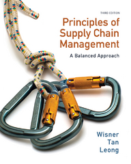 Principles of Supply Chain Management 3rd Edition 9780538475464 0538475463