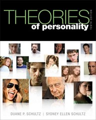 Theories of Personality 10th Edition 9781111834531 1111834539