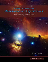A First Course in Differential Equations with Modeling Applications 10th edition 9781111827052 1111827052