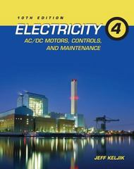 Electricity 4 10th Edition 9781111646752 1111646759