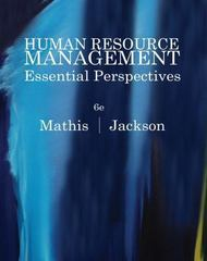 Human Resource Management 6th edition 9780538481700 0538481706