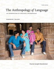 The Anthropology of Language 3rd edition 9781111828851 1111828857