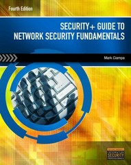 Security+ Guide to Network Security Fundamentals 4th Edition 9781111640125 1111640122