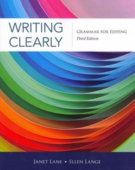Writing Clearly 3rd Edition 9781111351977 111135197X