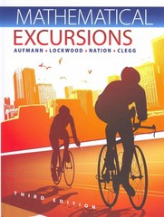 Mathematical Excursions 3rd edition 9781111578497 1111578494